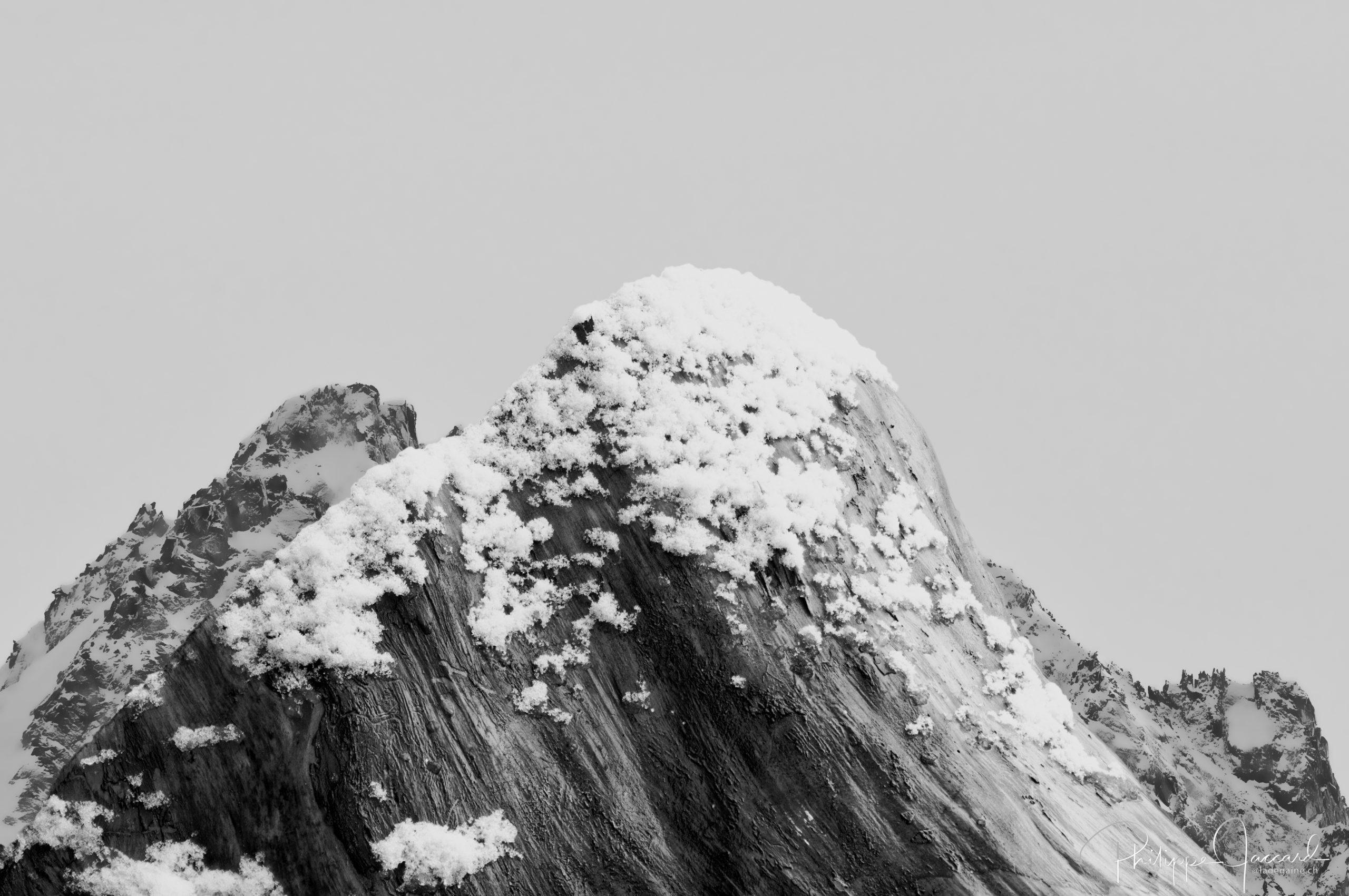 Montagnes de nos forêts @ près de chez moi – Pigne d'Arolla Face Nord - par Philippe Jaccard
