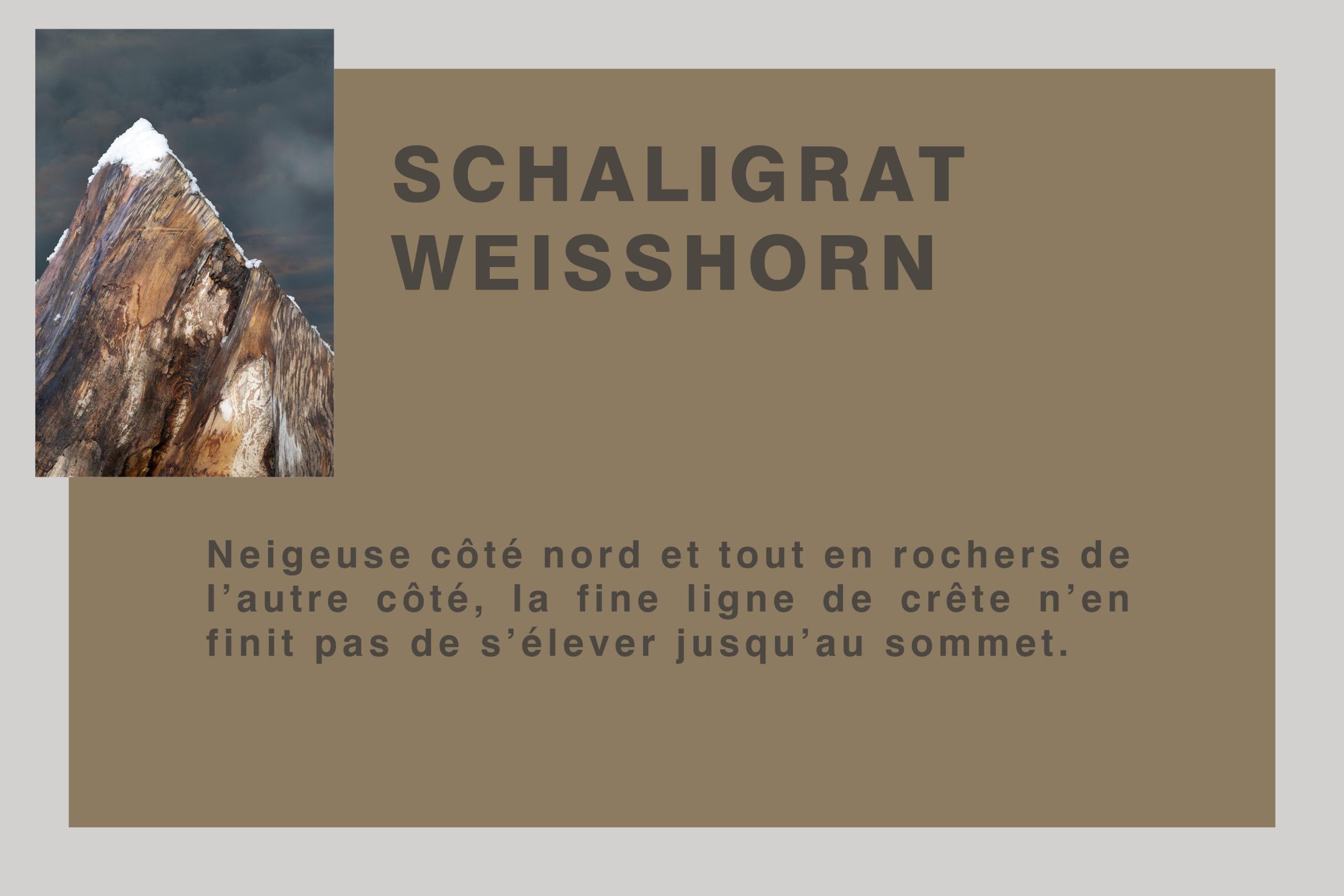 Schaligrat au Weisshorn