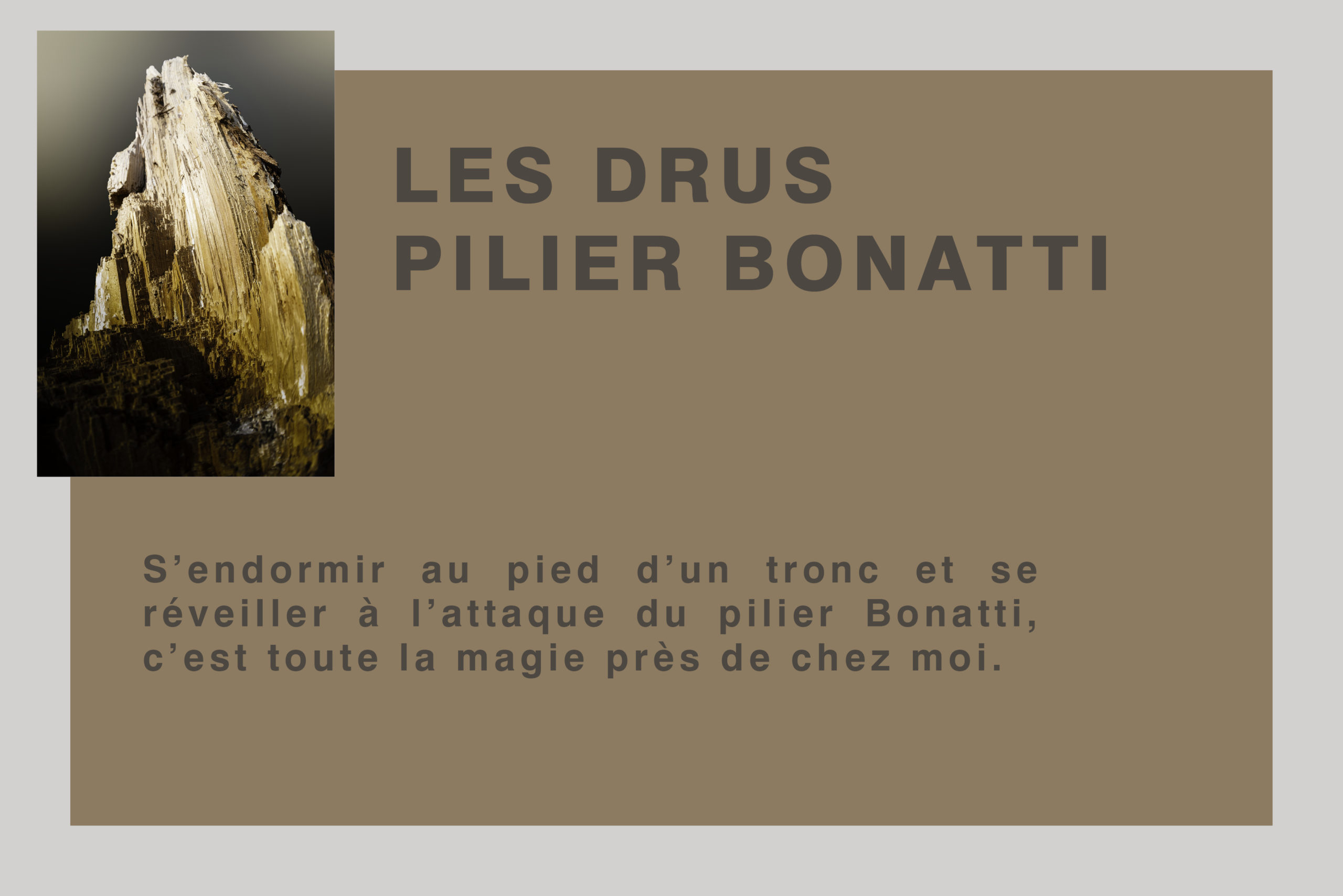 Les Drus - Pilier Bonatti